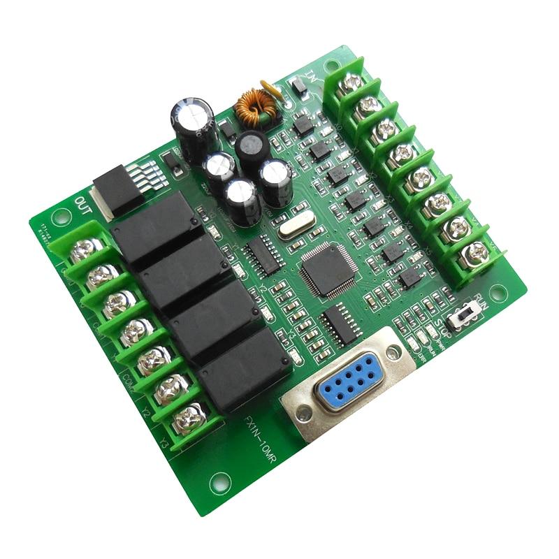 PLC Industrial Control Board FX1N-10MR FX1N-10MT PLC Smart Home Controller Programmable