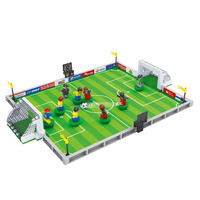 250Pcs Building Blocks Football Series 200 3D Construction Toys Brinquedos Action Figure Anime Toys For Children
