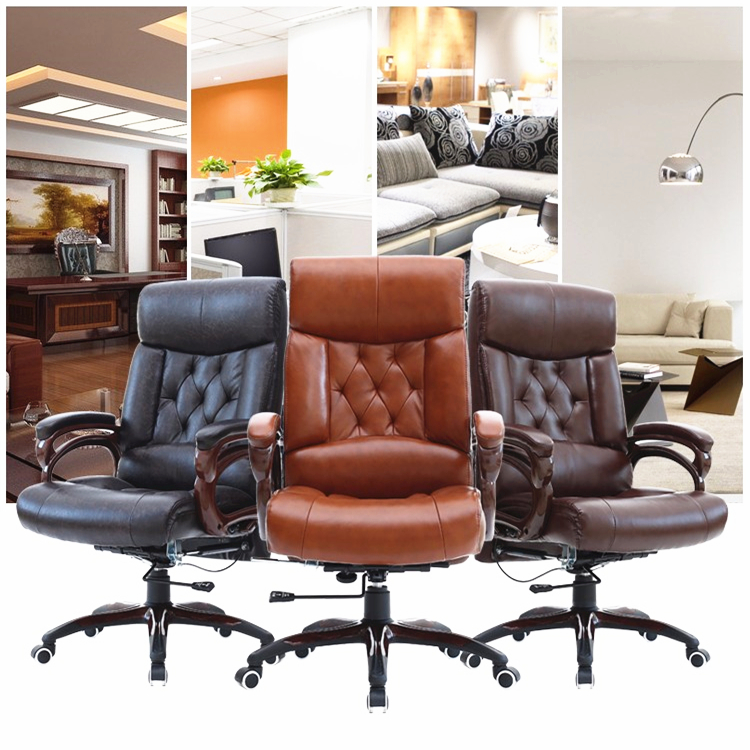 Luxury Office Chair Boss Computer Household Leisure Lying Lifting Swivel Super Soft Thicken Cushion Ergonomic In Chairs From