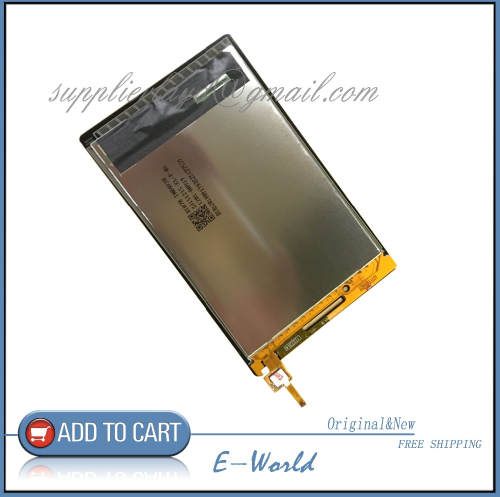 Original and New 7inch LCD screen with Touch screen For Lenovo Tab 2 A7-10 A7-10F Tablet Parts Replacement Free Shipping genuine replacement 2 7 lcd backlight touch screen module for sony dsc t2