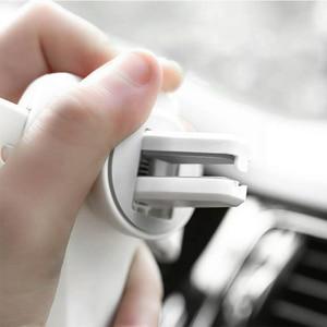 Image 5 - Support universel de voiture pour téléphone portable dans le support de montage dévent de voiture support pour téléphone Mobile pour iPhone 11 6 6s Plus support de cellule de Smartphone de gravité