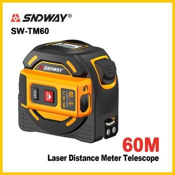 SNDWAY, nuevo medidor láser de distancia, telémetro, multifunción, autobloqueo, herramienta manual, dispositivo Telémetro Láser Telémetros láser Herramientas -