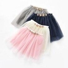Юбки-пачки для малышей, юбка-американка для девочек, meisjes para falda пачка bebe аппликация блестящие звезды из 3 слоев тюля для малышей; юбки для танцев;
