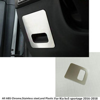 Top Quality For Kia Rio Car Styling Cover Aluminium Alloy Foot Gas Petrol Oil Interior Inner