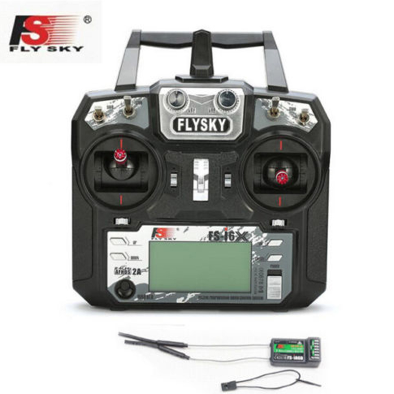 Original FS-i6X RC Transmitter 10CH 2.4GHz AFHDS 2A With FS-iA6B FS-iA10B FS-X6B Receiver For Rc Airplane Quadcopter goolrc brand ax5s 2 4g 3ch afhs radio rc transmitter with receiver super active passive anti jamming for rc car boat
