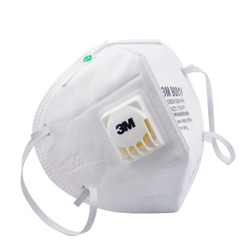 Image 3 - 3M 9001V KN90 Vent Anti dust Masks Anti PM2.5 Industrial Construction Dust Pollen Haze Gas Family&Pro Site Protection Tool-in Masks from Security & Protection