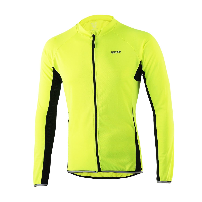 2016 Pro hombres manga larga Ciclismo Jersey MTB ropa Bike Jersey con  correa reflexivo Maillot ropa Ciclismo 4275d0c5e