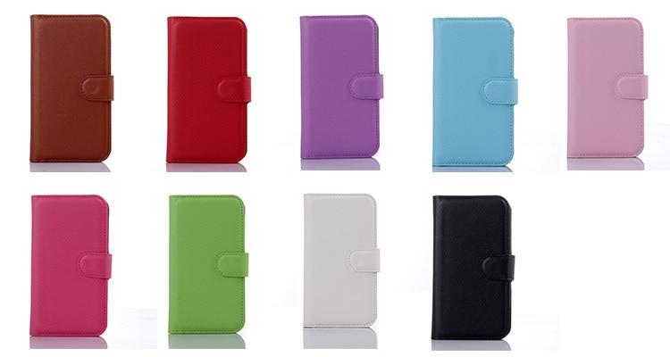 Lyxig plånbok PU-läderfodral för Sony Xperia E4g Dual E2033 E2003 - Reservdelar och tillbehör för mobiltelefoner - Foto 2