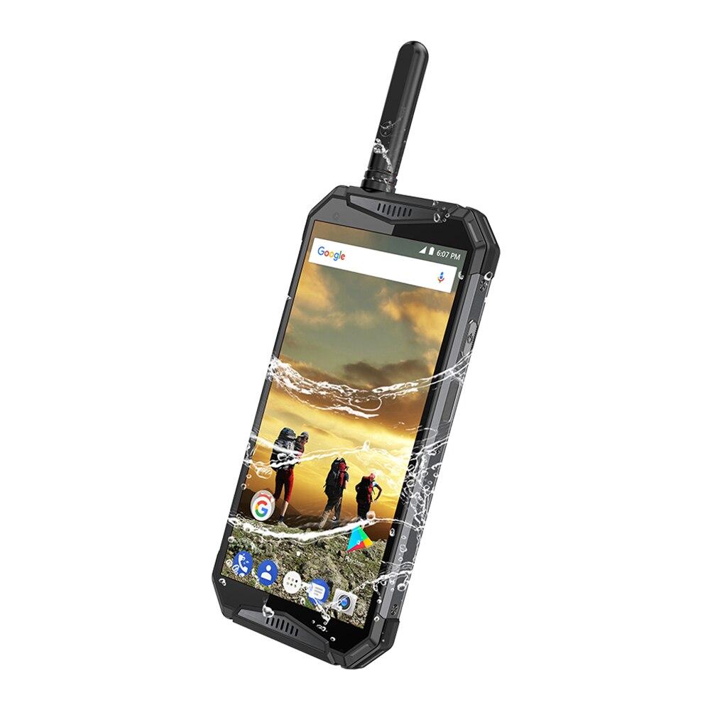 IP68 étanche Android 8.1 4G LTE talkie-walkie 3 T Poc téléphone Radios UHF + DMR réseau interphone téléphone intelligent Zello réel PTT