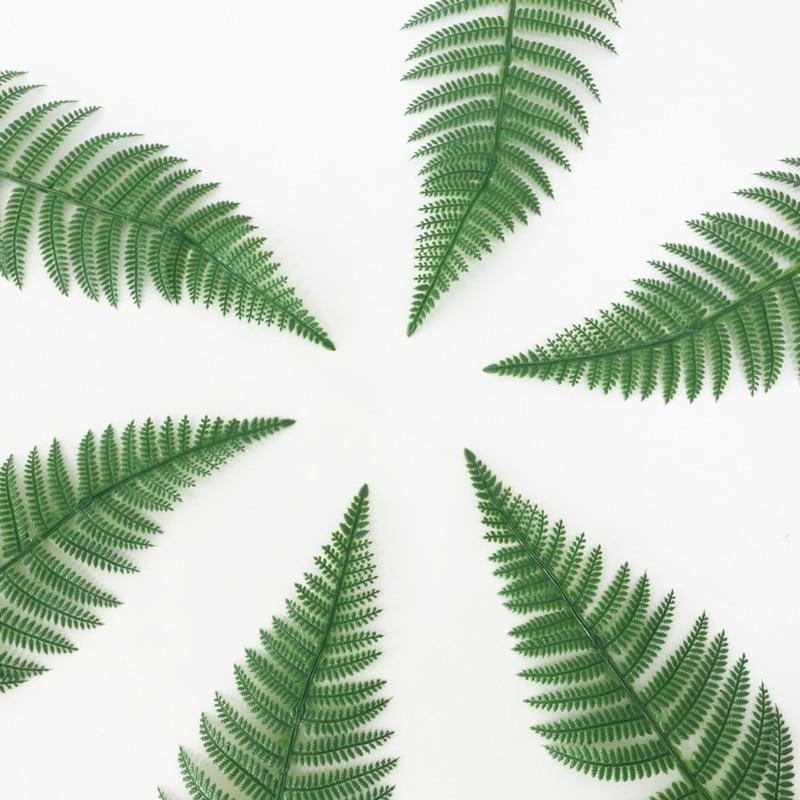JAROWN Artificial Plants Fern Leaf Nordic Minimalist Style Decor Flower For Wedding Home Flower Arrangement DIY Accessories (4)
