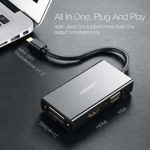 Image 5 - Адаптер Ugreen Mini DisplayPort к HDMI VGA DVI, конвертер Thunderbolt 2 HDMI Mini DP для Surface Pro 4 Mini DisplayPort