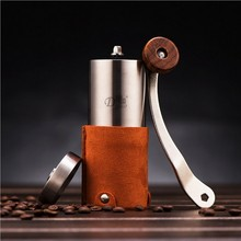 Hohe qualität Heißer Edelstahl Hand Manuelle Kaffeebohne Schleifen Professionelle Kaffeemühle Haushalt Handgemachte Kaffeemühlen
