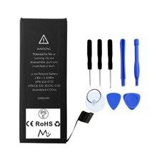 M & C Новый Для iPhone 5s Батареи 1560 мАч высокое качество OEM 100% 0 круг замена встроенный Литий-Ионный с 8 шт. комплект инструментов