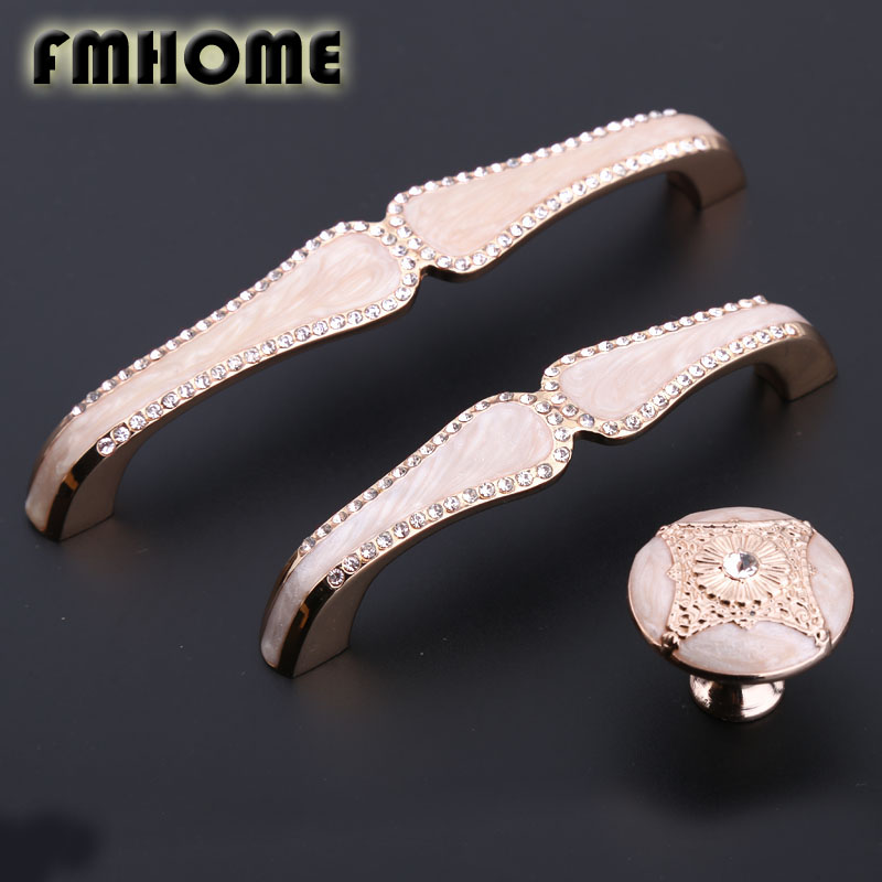 96mm 128mm european fashion glass crystal kitchen cabinet wine cabiner door handles amber white  drawer tv table knobs pulls 5 modern simple fashion clear glass crystal drawer tv table knobs pulls rose gold rhinestone kitchen cabinet cupborad door handles