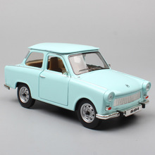 kid's 1 24 classic vintage German DDR The Trabant 601 S P601 Trabbi DeLuxe 1966 diecast vehicle cars scale toys models miniature стоимость
