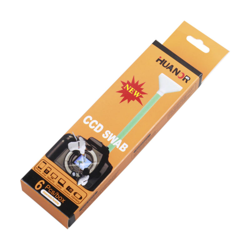 Camera Cleaning Kit CCD 6 in1 Swab DRY Cleaner Full Frame 24mm Big CMOS CCD  Swab 9f2d000284aec