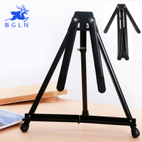 Bgln Sketch Easel For Painting Foldable Painting Easel Display Aluminum Alloy Sketch Frame For Artist cavalete para pintura