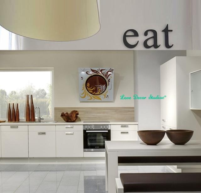 Küche decor holzbuchstaben ESSEN Original schrift Küche wand dekor ...