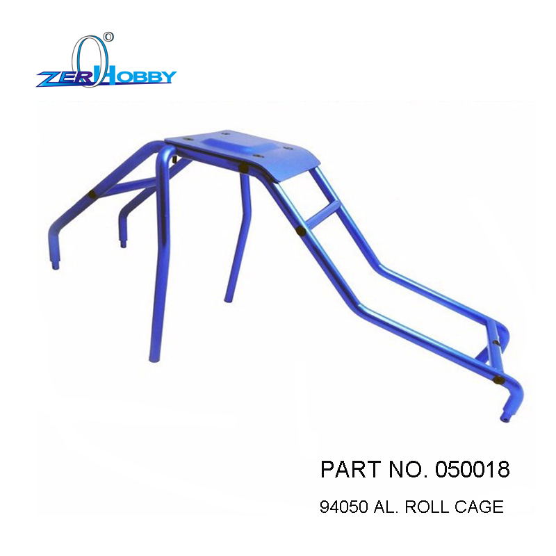 HSP RACING RC CAR UPGRADE SPARE PARTS ACCESSORIES 050018 AL. ROLL CAGE OF HSP 1/5 GAS TRUCK 94050 AND BAJA 94054 94054-4WD 82910 ricambi x hsp 1 16 282072 alum body post hold himoto 1 16 scale models upgrade parts rc remote control car accessories