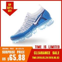 Оригинальный Nike Оригинальные кроссовки AIR VAPORMAX FLYKNIT 2 мужские кроссовки спортивная обувь дышащая Спорт на открытом воздухе спортивная