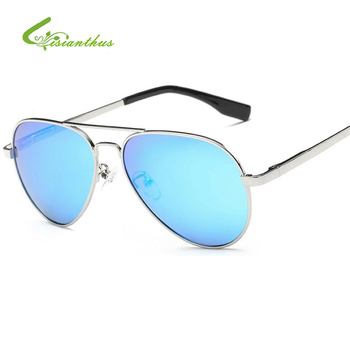 Children Polarized Sunglasses Boys Girls Cute Mirror Classic Fashion Eyewear Kids Pilot Sun glasses 100% UV400 gafas de sol