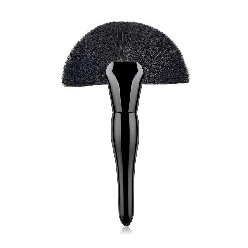 SAIANTTH Single black large fan pregnant belly makeup brushes goat hair pincel maquiagem high quality pinceaux maquillage beauty