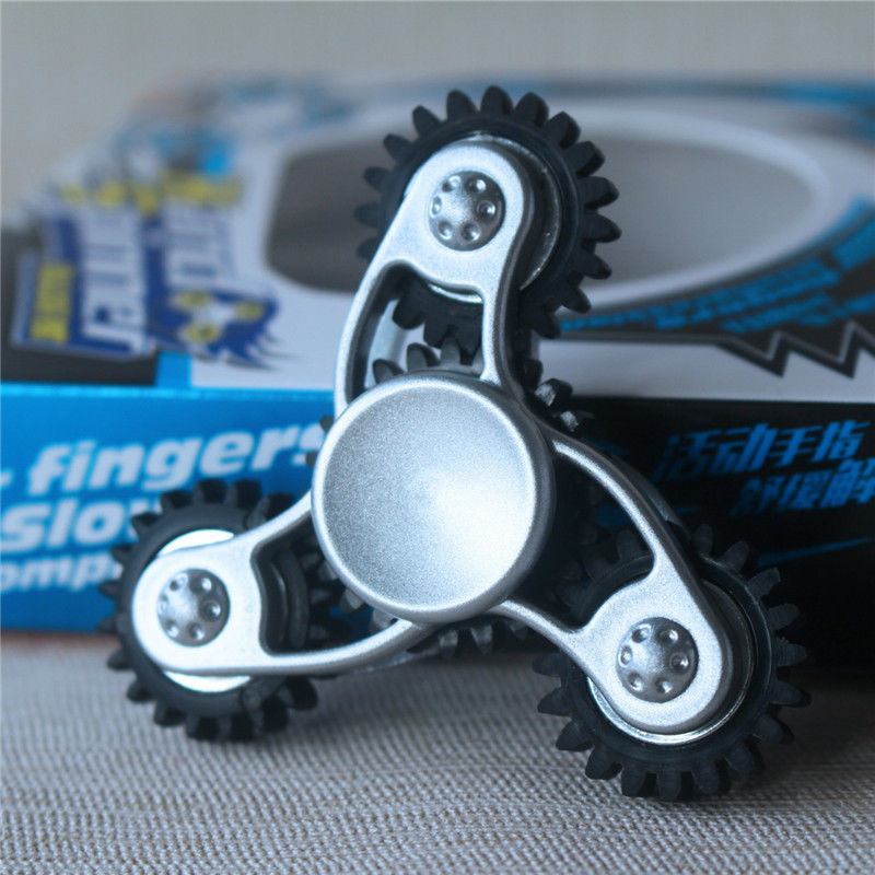 pudcoco Hand Fidget Spinner Focus EDC Finger Gyro top toy