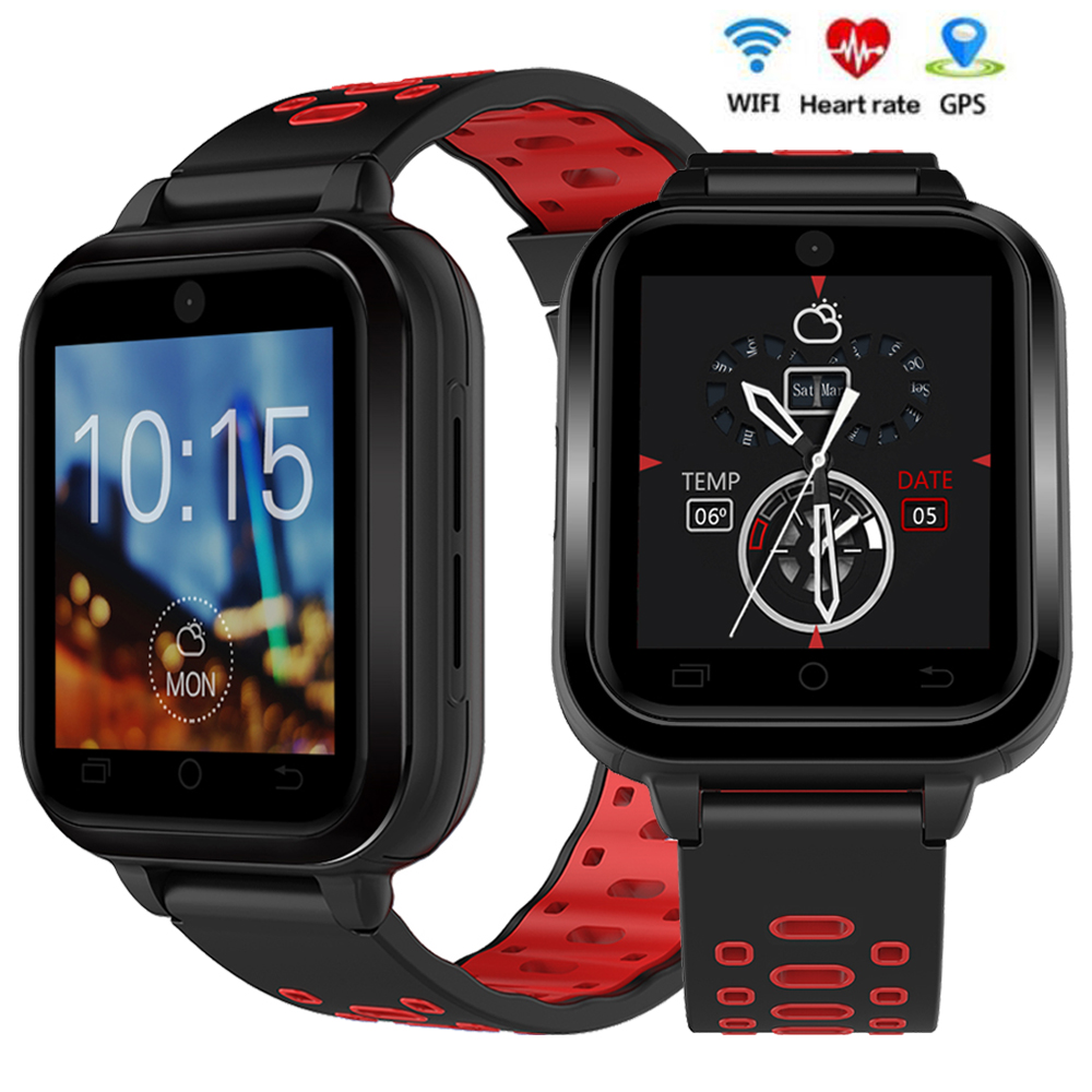 RUIJIE Q1 Pro 4G GPS Smart Watch Android 6.0 MTK6737 1GB 8GB Smartwatch Support Heart Rate Monitor SIM Card WIFI Wristwatch 4g gps android 6 0 smart watch m5 mtk6737 heart rate monitor support sim card camera business smartwatch for men women 2018 gift