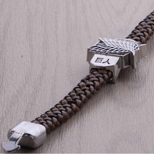 SPECIAL OFFER! Attack On Titan Rope Chain Bracelets