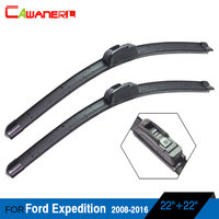 Car Soft Rubber Windshield Wiper For Ford Explorer 2002 2004 2 Pieces Vehicle Frameless Window Wiper