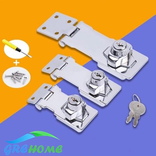 With 2 keys Drawer Locks Furniture Hardware Door Cabinet Lock for Office Desk