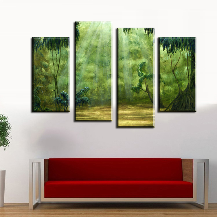 Online buy wholesale pictures rainforest from china for Fallout 4 canvas painting