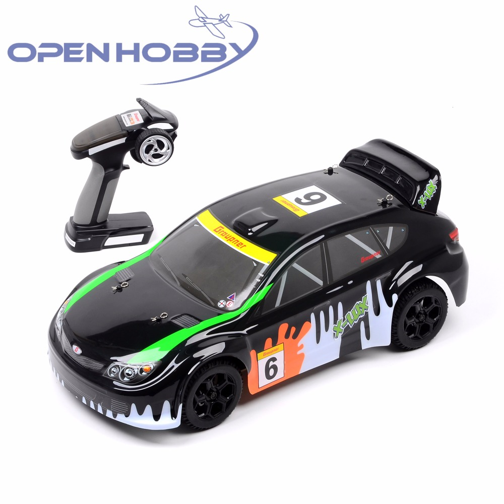 Graupner Rally Car X-LUX RC Car Radio Remote Control Model Scale 1:10 Rally Racing Shockproof Rubber wheels Buggy 82910 ricambi x hsp 1 16 282072 alum body post hold himoto 1 16 scale models upgrade parts rc remote control car accessories