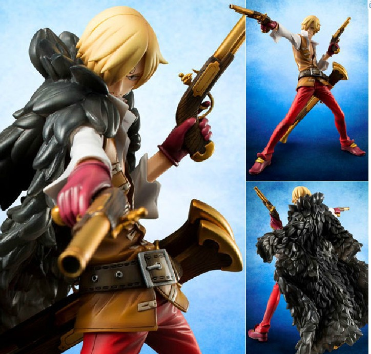 Hot-selling 1pcs 23cm pvc Japanese anime figure Sanji one piece action figure collectible model toys  kids toys for boys japanese anime figures 23 cm anime gem naruto hatake kakashi pvc collectible figure toys classic toys for boys free shipping