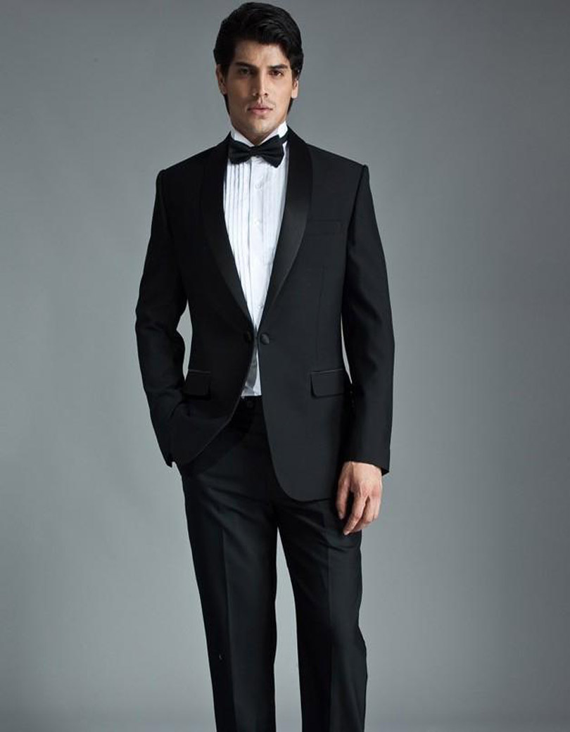 Online Buy Wholesale modern black suit from China modern black ...
