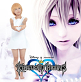 Free Shipping Kingdom Hearts 2 Namine White Dress Game Cosplay Costume