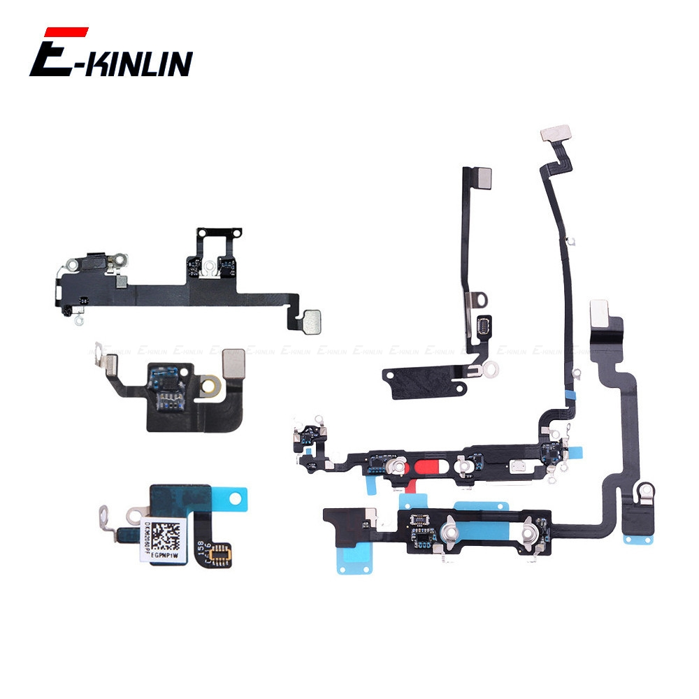 New Loud Speaker WIFI Antenna Flex Cable For IPhone 7 8 Plus X XS Max XR Loudspeaker Buzzer Ringer Connector Ribbon Parts