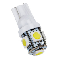 цена на 1000X T10 194 168 W5W 5050 5 SMD 5 LEDs LED Light Bulb Clearance Light Indicator Reading Lamps 12V White Yellow Red Blue Green