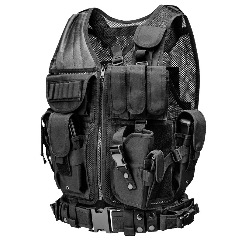 High Quality Best Special Forces Commandos  Vest Bag Army Fans Backpack Cosplay CS Police Chest Bag Fighting Multiple Bags