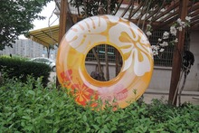 inflatable play Outdoor Inflatable Kid Toy Water Play Beach Swam Children Float Swan Ring Summer Holiday