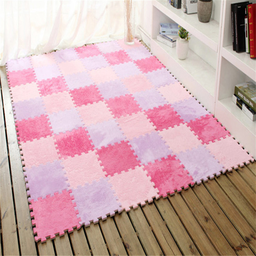 Zero 2017 6 Pc EVA Eco Puzzle Carpet Mosaic Tile Living Room Cushion Bedside Carpet Purchasing B7719-in Mat from Home & Garden on Aliexpress.com | ...