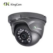 KingCam Metal Anti-vandalismo cámara IP POE 2,8mm lente de ángulo ancho 1080 P 960 P 720 P seguridad ONVIF de vigilancia CCTV cúpula IP Cam