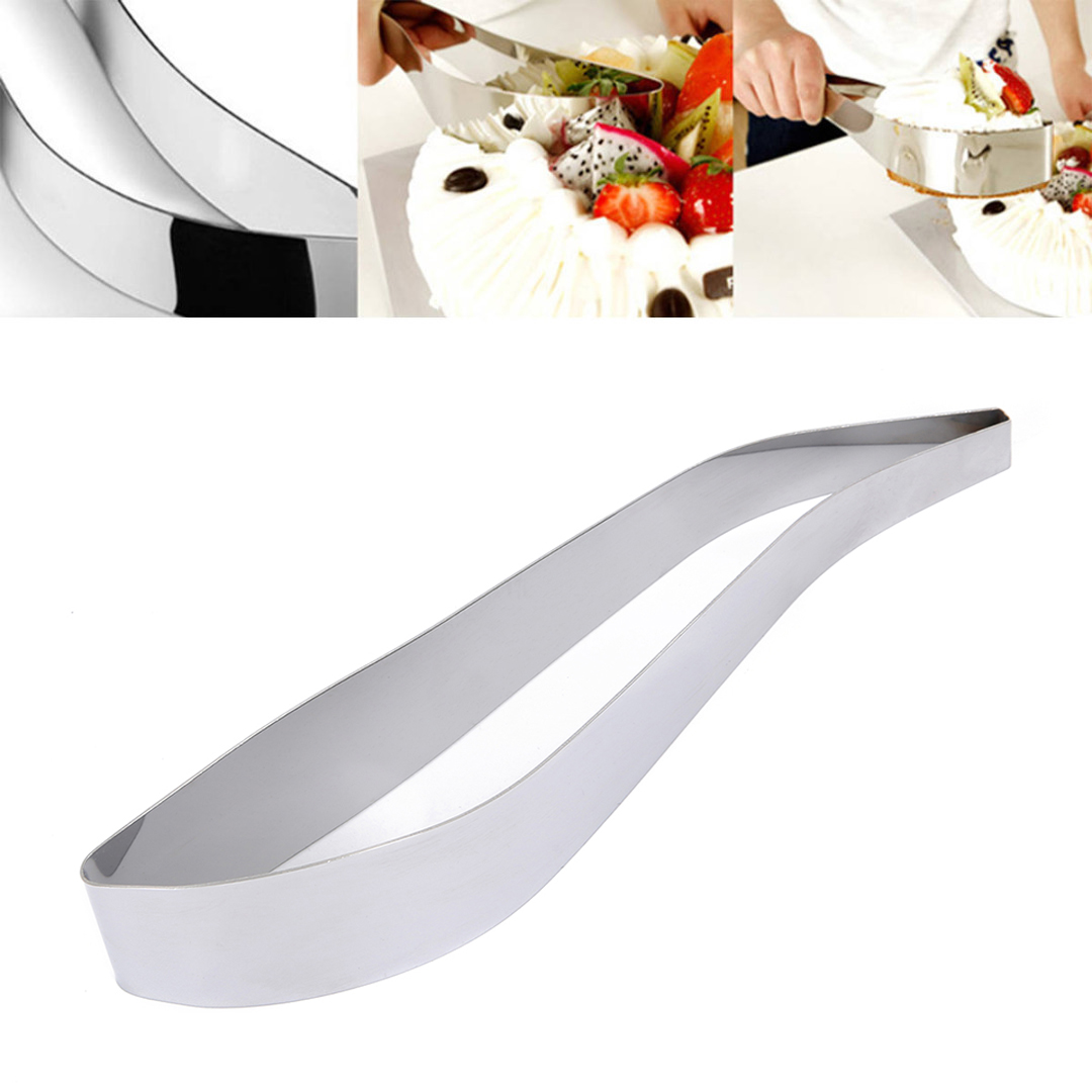 JX-LCLYL Stainless Steel Cake Cutters Bread Slicer Server Cake Pie Gadget