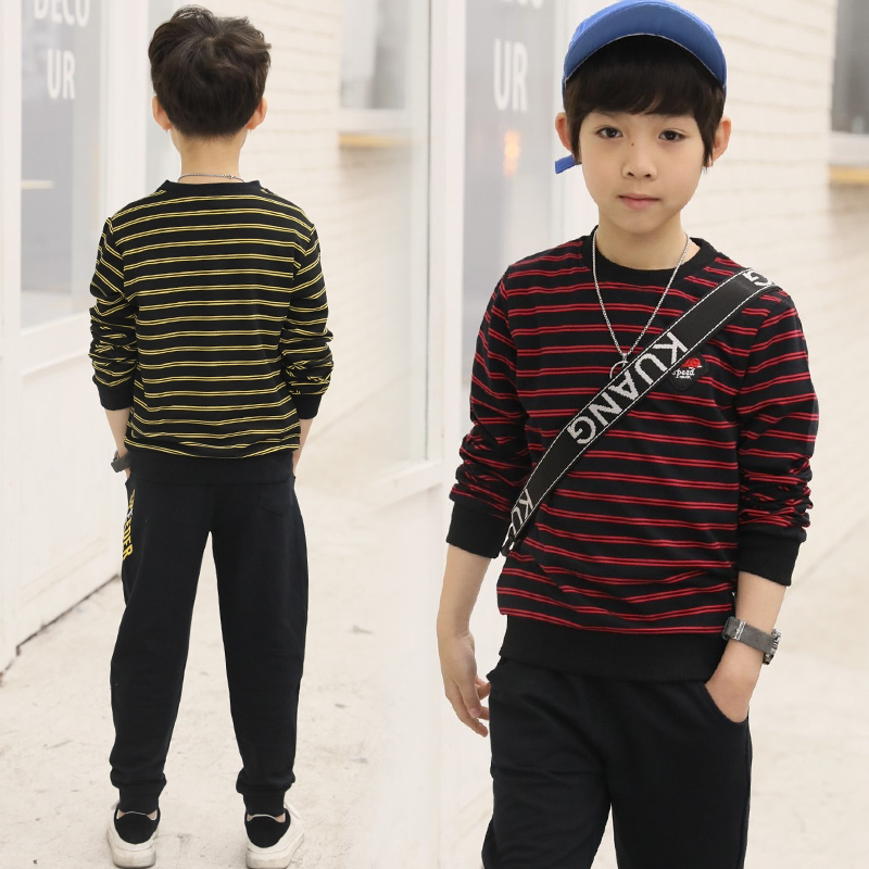 Children Clothing 2pcs sets 100%cotton Coat+pants Fashion Striped Boy Kid Spring Autumn Suit Fall Cotton sport tracksuit outdoor чехол для iphone 5 глянцевый с полной запечаткой printio the lord of the rings lotr властелин колец