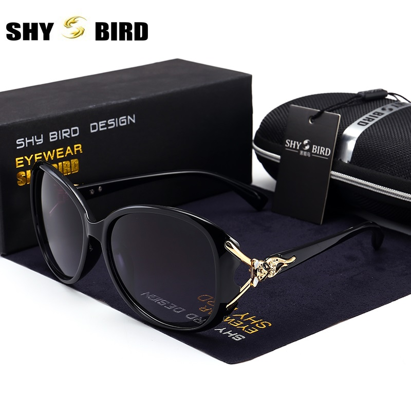 SHYBIRD Cat Eye Shield Women's Sunglasses Polarized Lens HD Hot Sale Glasses Frame Women's Sunglasses UV400 8842