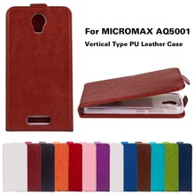 Fashion Cases For Micromax AQ5001 Canvas Juice 2 AQ 5001 Covers Bags Luxury Vertical Flip PU Leather Magnetic Housing Shell Skin