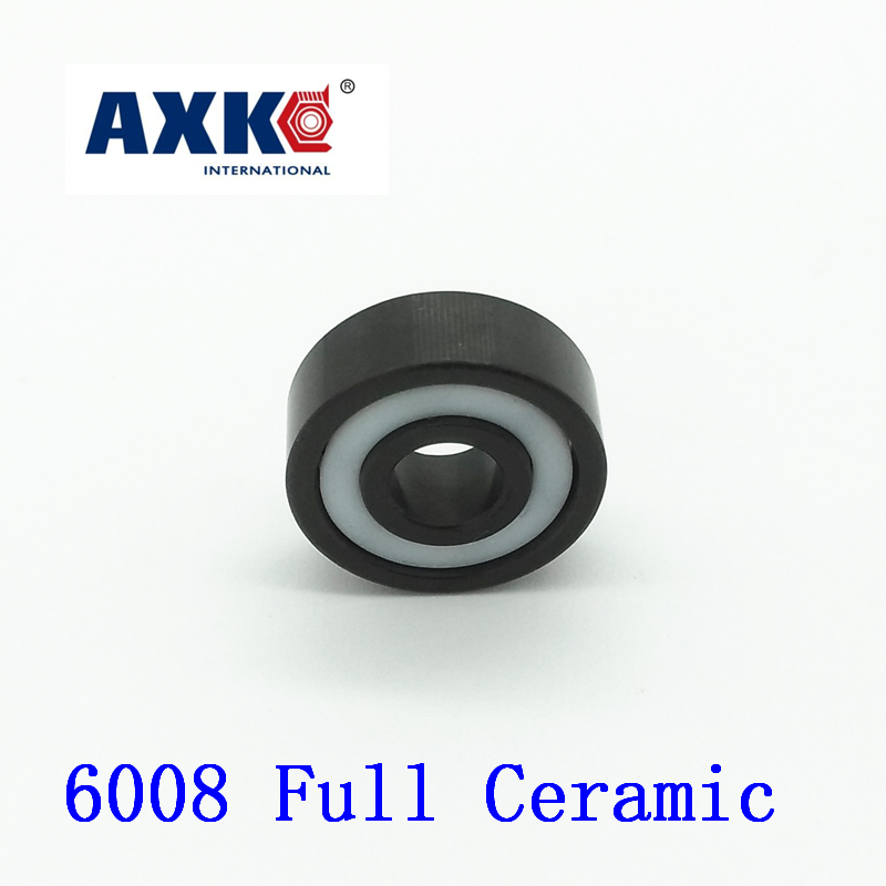 2019 Sale Rolamentos Axk 6008 Full Ceramic Bearing ( 1 Pc ) 40*68*15 Mm Si3n4 Material 6008ce All Silicon Nitride Ball Bearings2019 Sale Rolamentos Axk 6008 Full Ceramic Bearing ( 1 Pc ) 40*68*15 Mm Si3n4 Material 6008ce All Silicon Nitride Ball Bearings