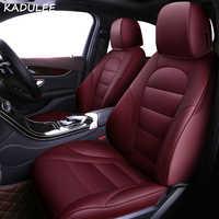 KADULEE set copertura di sede dell'automobile per Volkswagen 4 5 6 7 vw passat b5 b6 b7 polo golf mk4 tiguan jetta touareg accessori auto-styling