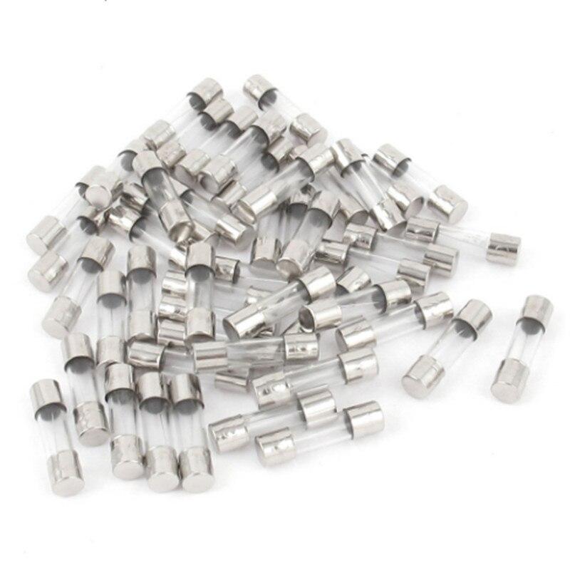 20pcs/lot 5x20mm Glass Fuse 0.1A 0.2A 0.5A 1A 2A 3A 4A 5A 8A 10A 15A 20A 30A 250V 5*20mm Fuse