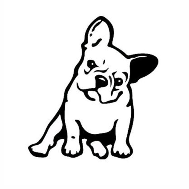 Magnífico Páginas De Colorear De Bulldog Francés Ilustración ...
